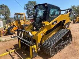 CAT 287C MTL Compact Track Loader High Flow XPS 2 Speed Hyd Quick Coupler - picture1' - Click to enlarge