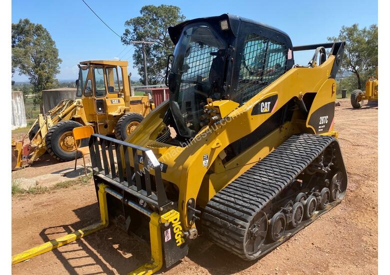 CAT 287C MTL Compact Track Loader High Flow XPS 2 Speed Hyd Quick Coupler