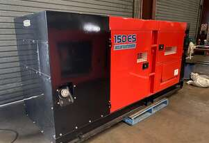 150 KVA Denyo / Komatsu Silenced Industrial Generator , As new Condition