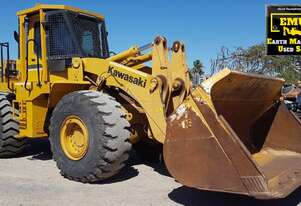 2013 90ZV-2 Kawasaki Loader, Engine & Turbo rebuild, E.M.U.S MS670