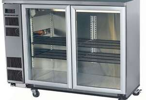 Skope BB380X 2 Glass Swing Door Fridge