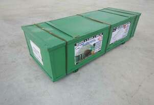 C2040-PVC 6m x 12m Single Trussed Container Shelter PVC Fabric