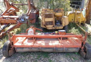 8' twin rotor slasher , offset , ex council , low hrs