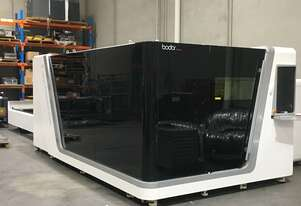 Rent or Buy - New IN STOCK Melbourne 3kW Fiber Laser - 1.5 x 3m dual table - full enclosure