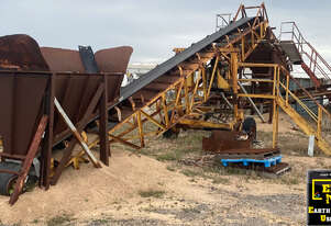 Austral Screening Plant with conveyors, E.M.U.S. MS687