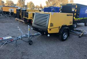 Kaeser M70, Towable Diesel Compressor, 250cfm