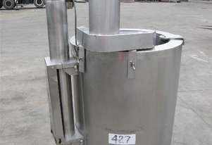 Stainless Steel Jacketed Mixing Capacity 120Lt.