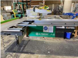 Altendorf F45 Sliding Table Saw - picture0' - Click to enlarge