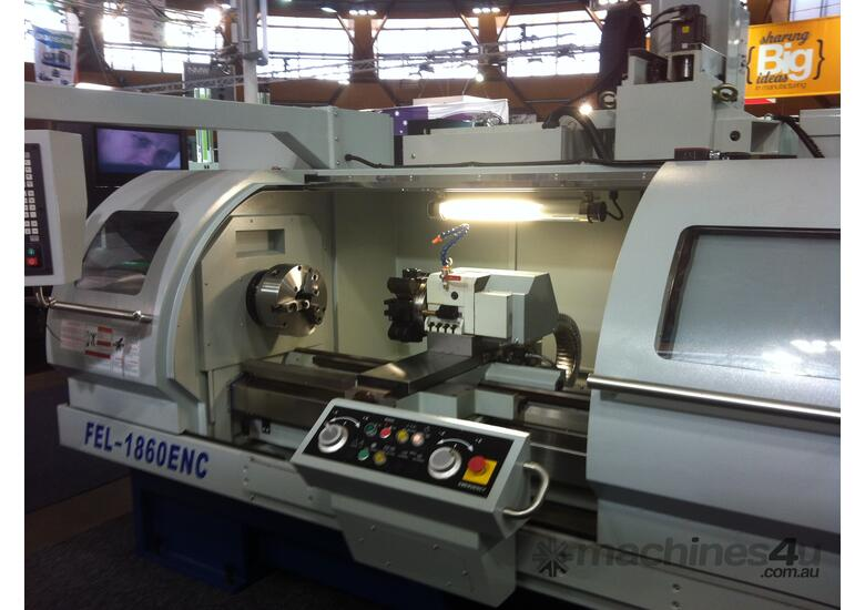 460mm swing Flat Bed Teach-In CNC Lathes