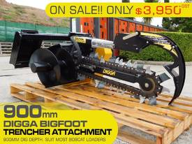 Hydraulic Trencher SUIT bobcat. 900MM DIG DEPTH