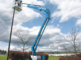 Genie TZ34/20 Trailer Mounted Boom Lift - picture1' - Click to enlarge