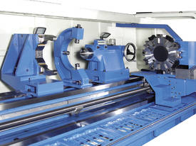 Large Shaft Capacity Five Bed Way CNC Lathes - picture0' - Click to enlarge