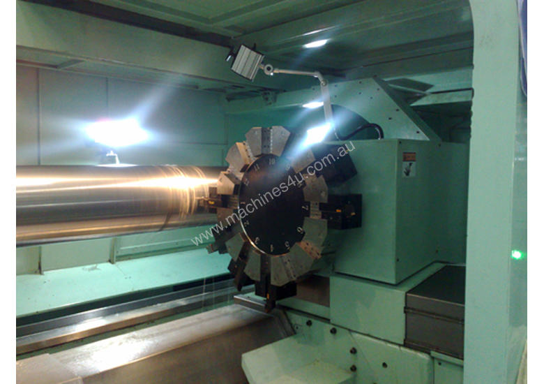 Large Shaft Capacity Five Bed Way CNC Lathes