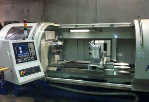 AJAX 610, 720 or 800mm swing CNC Lathe Opt Live Tooling