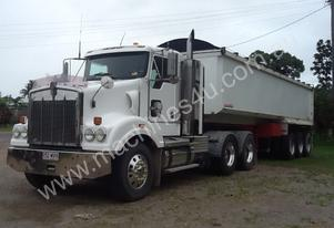 2004 KENWORTH T404 SAR PRIME MOVER AND TRAILER