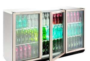 Williams BC3SS Bottle Cooler Glass 3 Door Refrigerator
