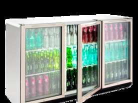 Williams BC3SS Bottle Cooler Glass 3 Door Refrigerator - picture1' - Click to enlarge