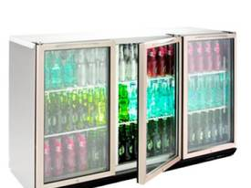 Williams BC3SS Bottle Cooler Glass 3 Door Refrigerator - picture0' - Click to enlarge