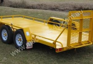 No.18H Tandem Axle Tilt Bed Plant Trailer Hyd Brak