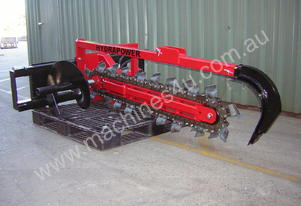 Hydrapower UT900 Trencher with 100mm Combo Chain