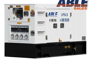 11 kVA Diesel Genset 415V, 3 Phase - Remote Start Available