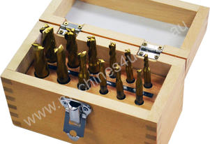 12 Pc End Mill and Slot Drill Set