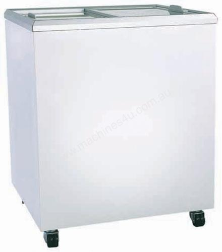 Bromic Flat Top Flat Glass Chest Freezer