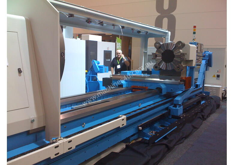 Heavy Duty CNC Lathes 1.5M up to 2.5M swing
