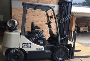 CROWN CG35 Counterbalanced LPG FORKLIFT