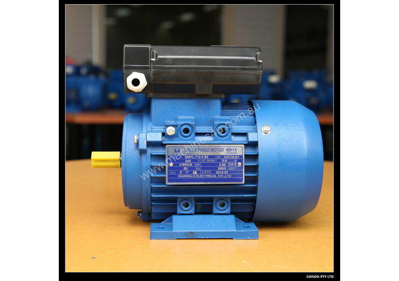 0.55kw/0.75HP 2800rpm Electric motor single-phase