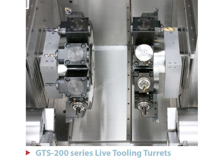 Goodway GTS Series Twin Turret � Twin Spindle