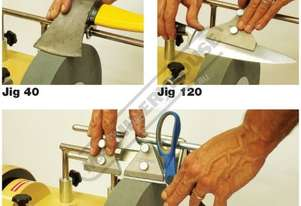 7903200002 Jig 40, 120, 160 House Hold Sharpening Kit 3 Piece Wetstone Grinder Accessories