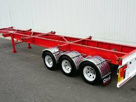 2011 Reid�s 40ft Tri-Axle Skel Trailer