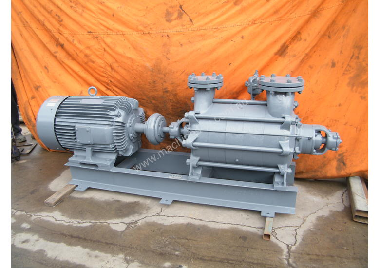 Pumps and Vacs - Multi stage Sihi 75 kw pump