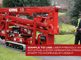 2019 CMC S19E Easy Access Spider Lift - picture7' - Click to enlarge