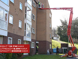 CMC S19E - Easy Access 19m Spider Lift - picture1' - Click to enlarge