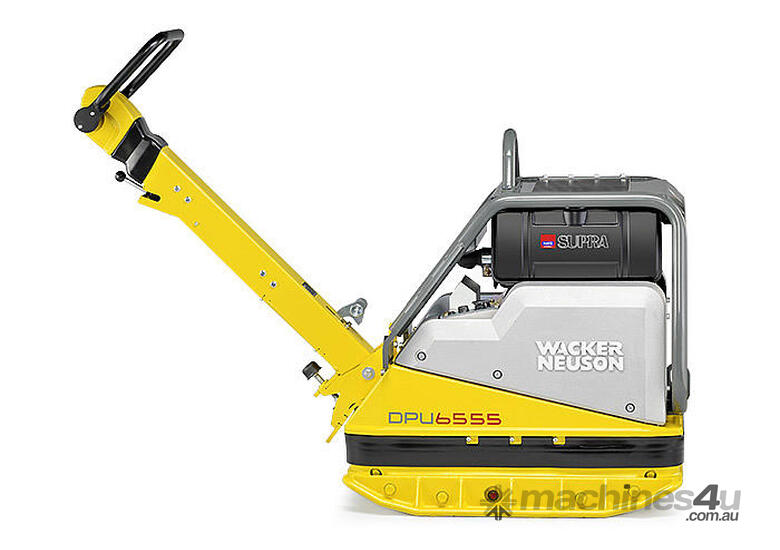 WACKER NEUSON DPU6555He ELECTRIC START DIESEL PLAT
