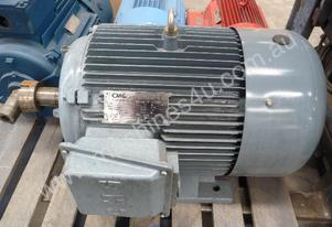 CMG 75HP 3 PHASE ELECTRIC MOTOR/ 1480RPM