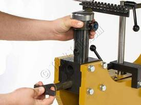 BAILEIGH Model: MH-19 Metal Forming Hammer, Variable Speed, Adjustable Stroke Plenishing Hammer - picture3' - Click to enlarge
