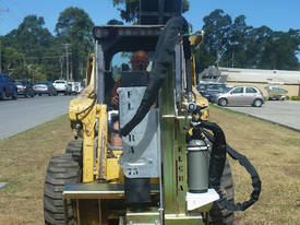 NEW EL-GRA SKID STEER POST DRIVER ATTACHMENT - picture2' - Click to enlarge