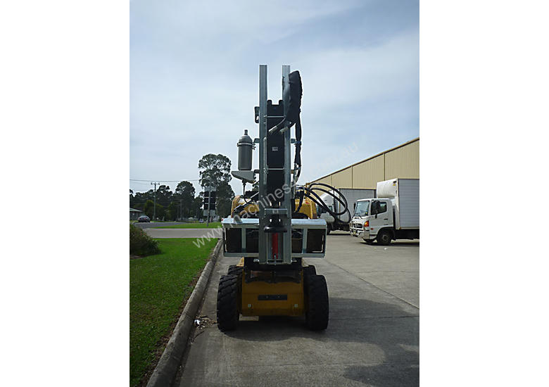NEW EL-GRA SKID STEER POST DRIVER ATTACHMENT