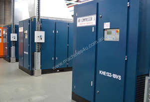 4kW TO 400kW ROTARY SCREW AIR COMPRESSORS
