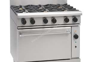 Waldorf by Moffat 6 Burner Natural Gas Convection Range RN8610GC