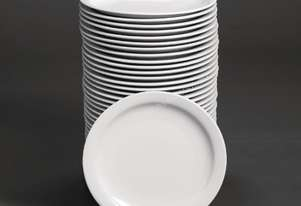 Special Offer Athena Hotelware Narrow Rimmed Plates 10