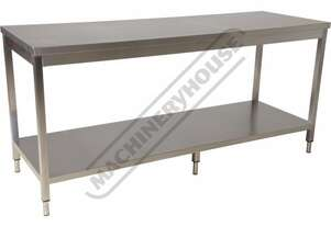SSB-20 Stainless Steel Island Work Bench 2000 x 700 x 900mm 700kg Total Load Capacity
