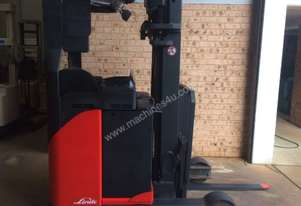 Linde R16 sit on reach truck 4.5m