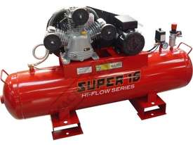 SUPER 16 Air Compressor 125 Litre Tank / 3hp 16cfm / 453lpm Displacement - picture0' - Click to enlarge