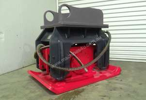 NEW : HYDRAULIC PLATE COMPACTOR EXCAVATOR ATTACHMENT FOR HIRE