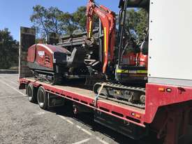 Ditch Witch JT3020 All Terrain Horizontal Directional Drill and Volvo Semitrailer  - picture2' - Click to enlarge