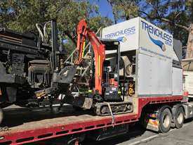 Ditch Witch JT3020 All Terrain Horizontal Directional Drill and Volvo Semitrailer  - picture4' - Click to enlarge